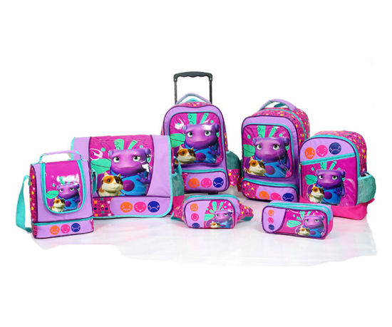Rolling School Backpacks for Girls Bsh20737) pictures & photos