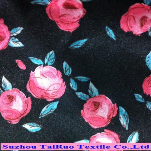 100% Poly Printed Koshibo Fabric for Fashion Skirts and Pants Fabric