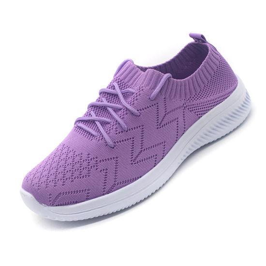 Women Sports Shoes Custom Fashion Running Casual Shoes
