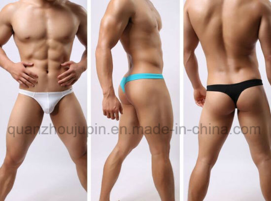 ad8585153c02 China Custom Hot Sales Sexy Men Thong G-String Underwear - China ...