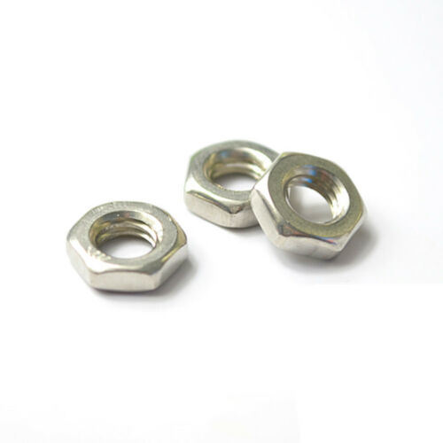 Stainless Steel Thin Hexagon Nuts Jam Thin Nut Half Nut M3 to M8 Metric Qty pictures & photos