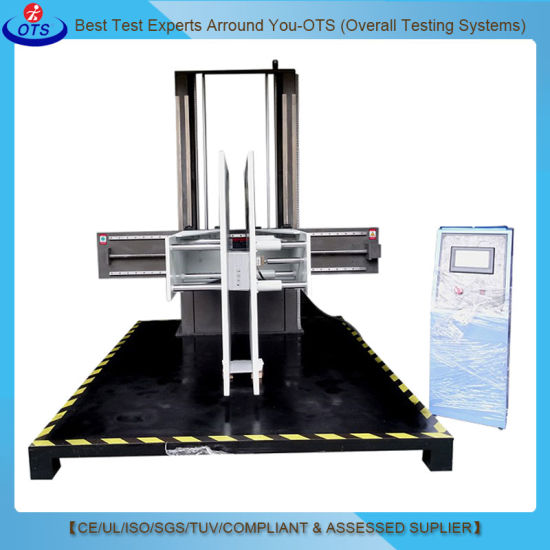 Computerized Electronic Machine Corrugated Carton Clamp Compression Test Equipment