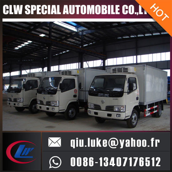 67eee02f21 1-5 Ton Fruit Small Van Truck 2ton Refrigeration Truck 4X2 Beer Truck for  Sale
