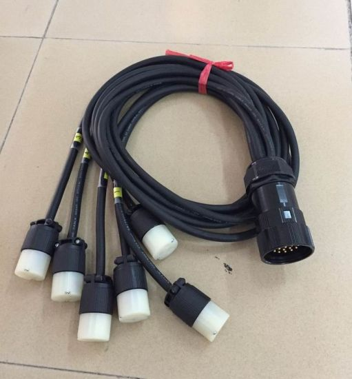 19pin Socapex Breakout Cable with Edison Outlets pictures & photos