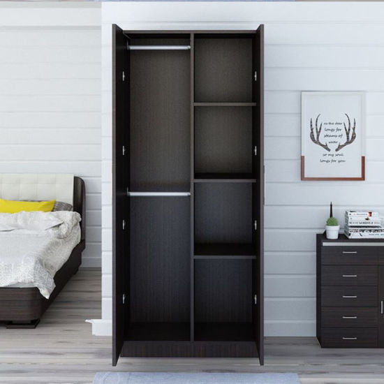 Double Door Indian Bedroom Wardrobe Design In Sliding Door With Mirror Impressive Bedroom Wardrobe Design