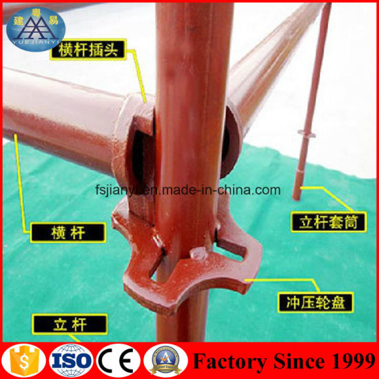 Chinese Selflock Tubular Quick Stage Scaffolding for Building Construction pictures & photos