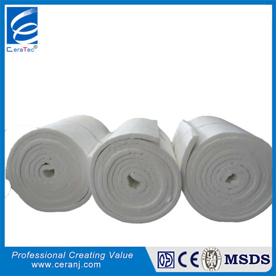 CT 1260 Heat Isolation Blanket Refractory Material Without Rockwool