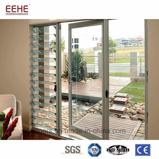 China Aluminum Door Louver Aluminum Door Glass Aluminum Door Design