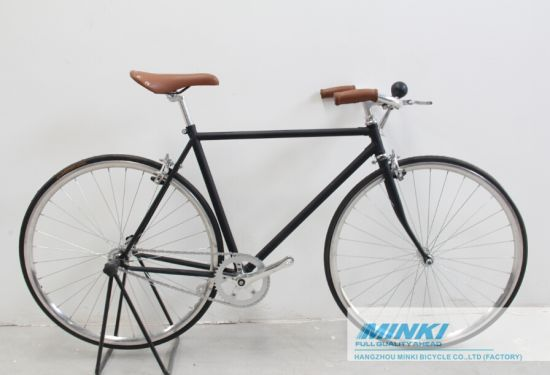 China Retro Vintage Lugged Fixed Gear Bicycle - China Fixed Gear ...
