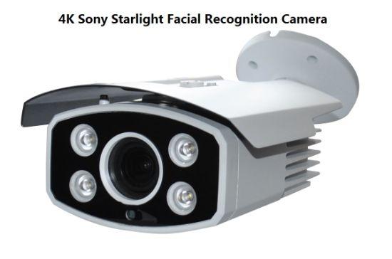 Fsan Smart IR Infrared 4K Face Recognition Access Control IP Bullet Camera