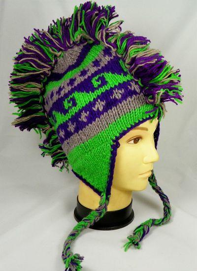 4189046e50e China Custom Knit Acrylic Mohawk Hat - China Mohawk Hat