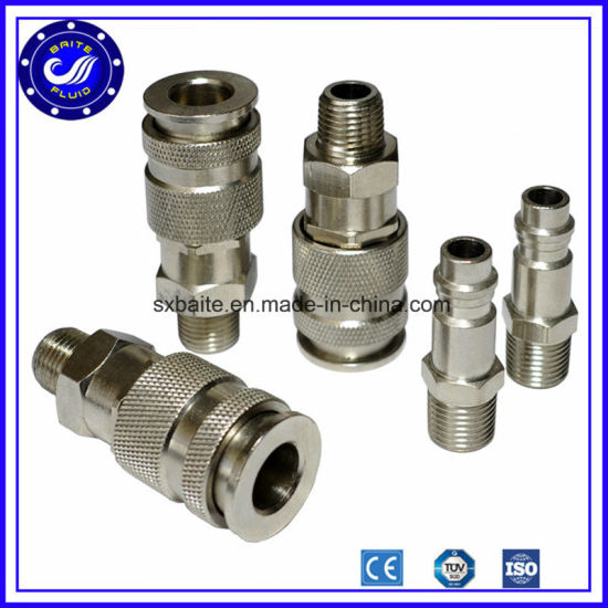 Compressed Air Fittings : China stainless steel quick connect pneumatic fittings