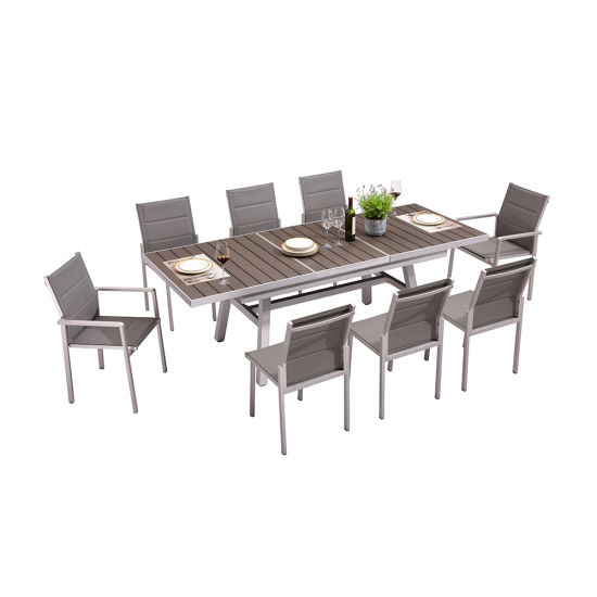 Stretch Dining Set Patio Furniture