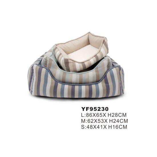Factory Sale Various Polyester Modern Design Dog Sofa Pet Bed (YF95230)