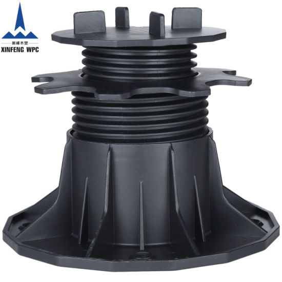 Strong Bearing Capacity Plastic Pedestals with Range 65-145mm for DIY Tiles