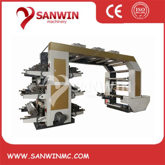 6 Color Flexographic Printing Machine
