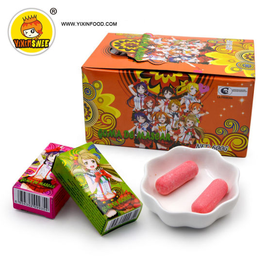 Girl Design OEM Halal Pretty Bubble Gum