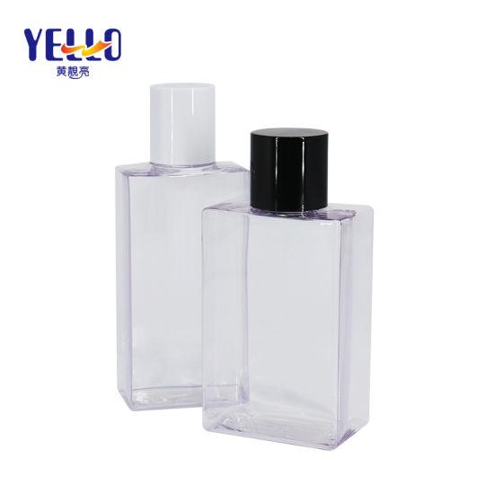 150ml 200ml Wholesale Clear Square Eco Friendly PETG Plastic Baby Shampoo Bottle
