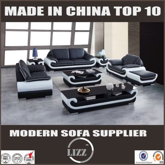 European Modern Sectional Leather Sofa Divani pictures & photos