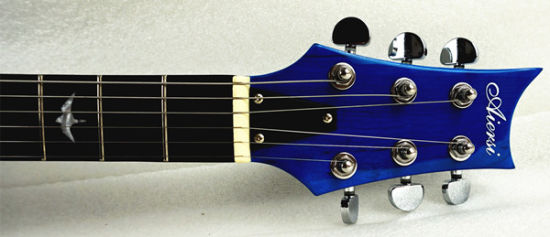 Prs Style Solid Body Electric Guitar Archtop Blue Colour pictures & photos