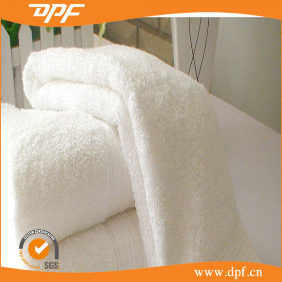 Cheapest Promotional High Quality White Cotton Towel (DPF060537) pictures & photos