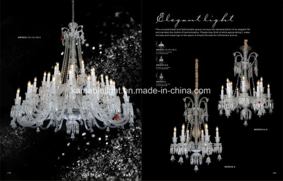 Luxury Hotel Decoration Crystal Floor Lamp (ML9830-16-8+8) pictures & photos