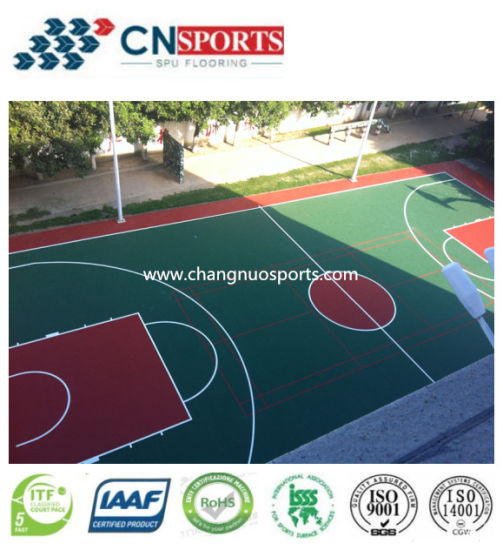 Silicon PU Sport Flooring Caoting Material for Baskeball Court