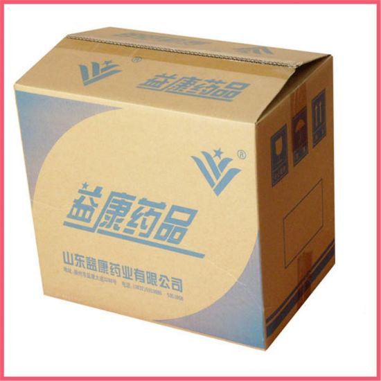 Custom Printed Cardboard Paper Packaging 3 Layer Corrugated Box Manufacturer Supplier Factory