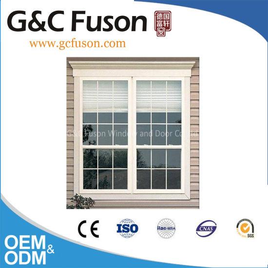 Plastic UPVC Tilt and Turn Windows for House for Sale