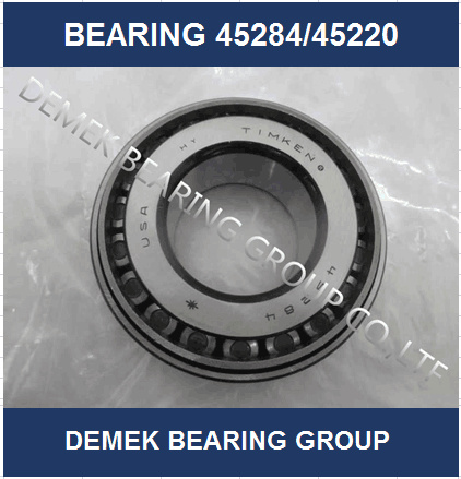 Hot Sell Timken Inch Taper Roller Bearing 45284/45220 Set410