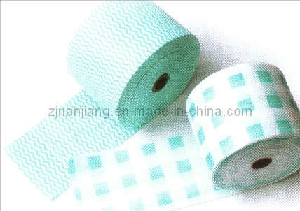 Household Daily Nonwoven Disposable Towel Roll Cleaning Cloth pictures & photos