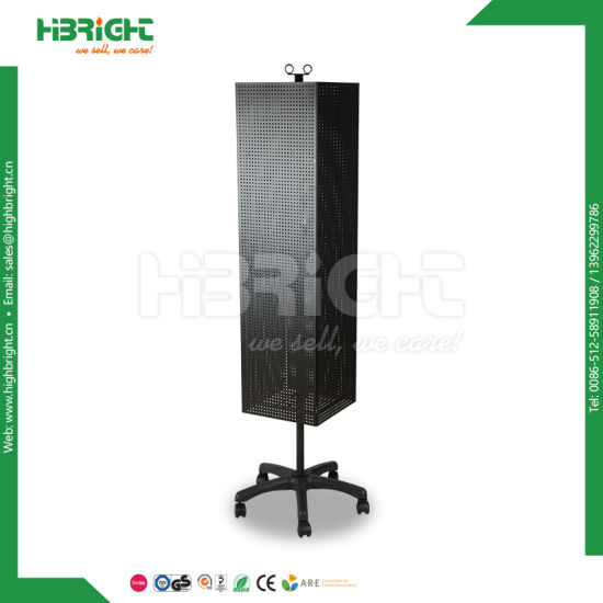 Powder Coating Metal Rotating Display Stand and Hangers pictures & photos