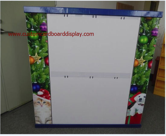 Half Pallet Display with Metal Hooks for Christmas Gifts for Pet Products, with 3 Sides to Demonstrate Your Products pictures & photos