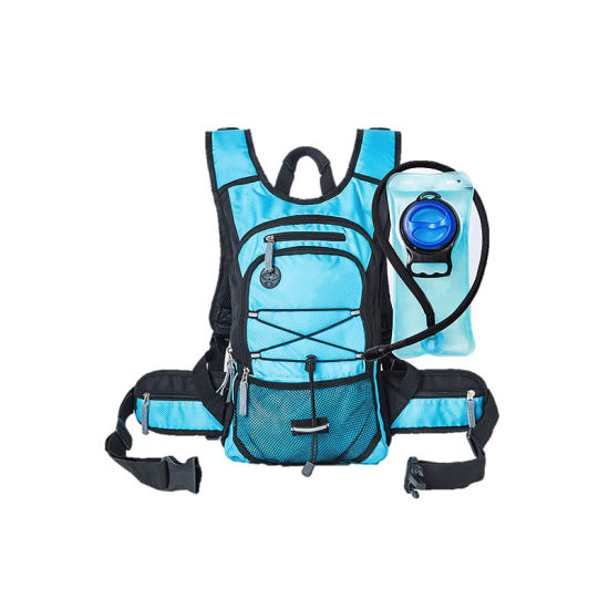 Sports Lightweight Hydration Water Backpack 2L TPU Leak Proof Water Bladder Insulated Pocket Adjustable Straps Daypack for Hiking Skiing, Running, Cycling