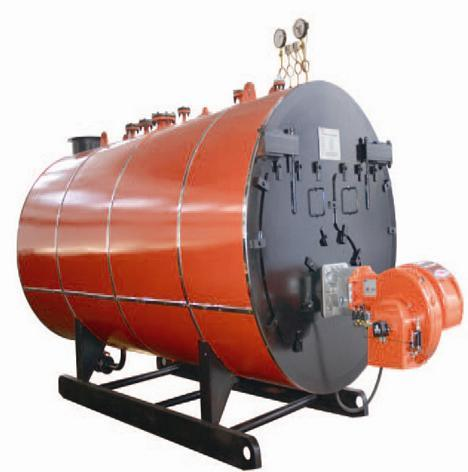 500-6000kg/H Fire Tube 3 Pass Wet Back Type Oil Fired Steam Boiler pictures & photos