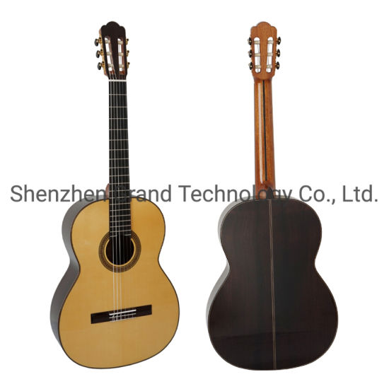 Custom Grand Hauser Replica Handmade All Solid Vintage Professional Classic Guitar Aaaa All Solid Wood Classical Guitar Series
