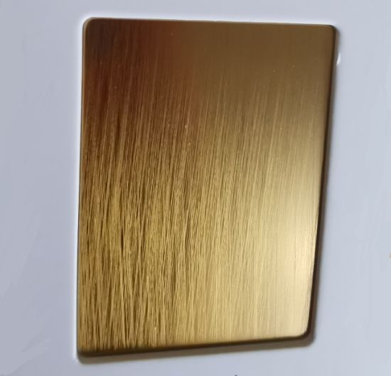 China Hand Hairline Colored Stainless Steel Sheets Copper Rose Gold Black Champagne China Stainless Steel Sheet Hairline Stainless Steel Sheet,Sage And Lavender Color Scheme