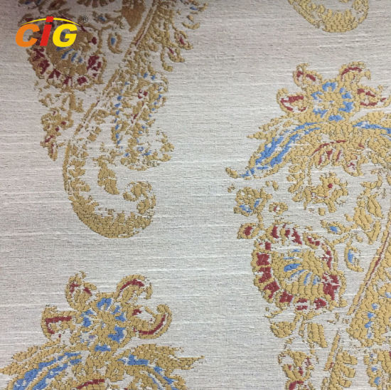 140cm - 280cm Jacquard Chenille Sofa Upholstery Fabric for Curtain and furniture