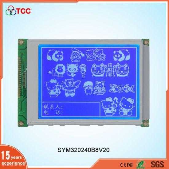 5.7 Inch 320X240 Graphic Monochrome Multi-Display Mode LCD Display Module