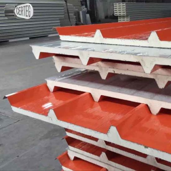 PU Composite Steel Sandwich Panel Factory pictures & photos