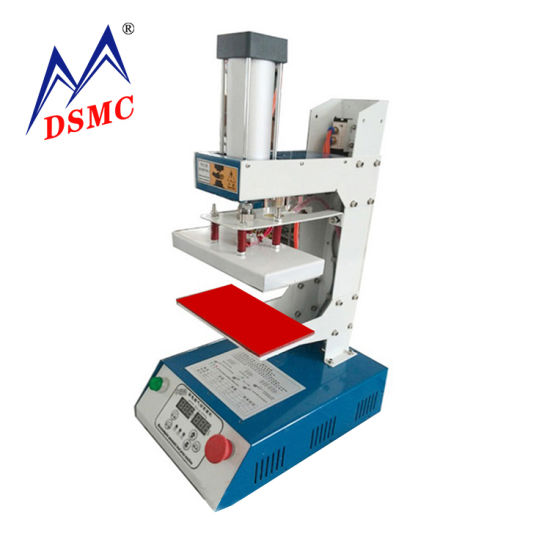 Easy-to-Use Factory Price Heat Stamp T Shirt Hot Press Machine for Leather Logo Embossing