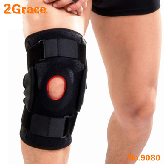 Adjustable Hinged Patella Knee Support Brace for Pain Relief and Knee Joint Protection