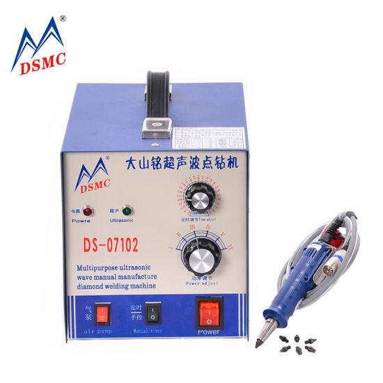 Wholesale Diamond Setting Ultrasonic Drilling Rhinestone Sewing Machine in Russia