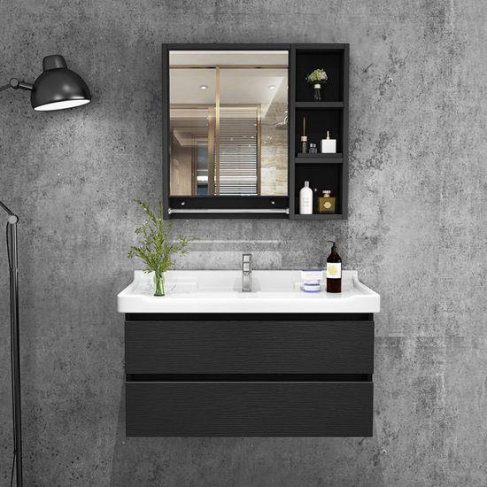 China Modern Bathroom Solid Wood Wall, Modern Bathroom Wall Cabinet