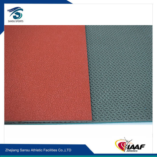 Indoor and Outdoor Rubber Flooring for Basketball Court