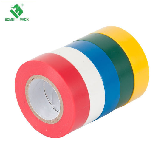 China Factory Colorful PVC Electrical Insulation Adhesive Tape pictures & photos