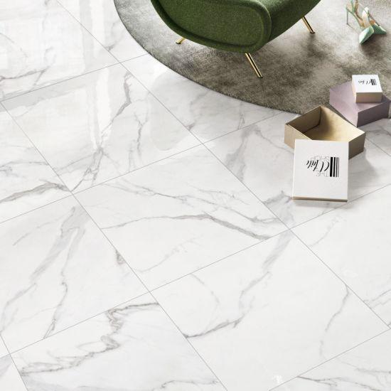 """Full Body Glazed Porcelain Floor Tiles with 75 Degree Whiteness (32""""X32"""")"""