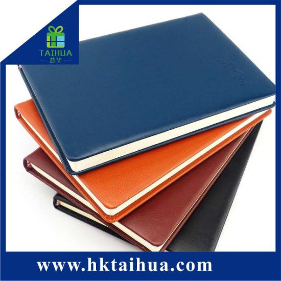 2018 Custom New PU Leather Hardcover A5 Diary Notebook