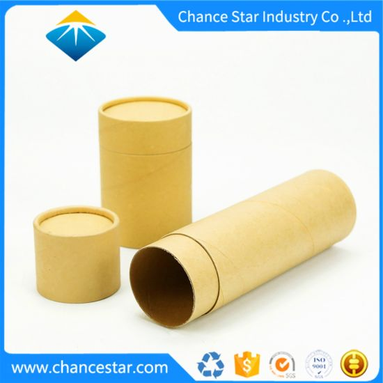 Custom Plain Kraft Cardboard Paper Roll Core Packing Tubes