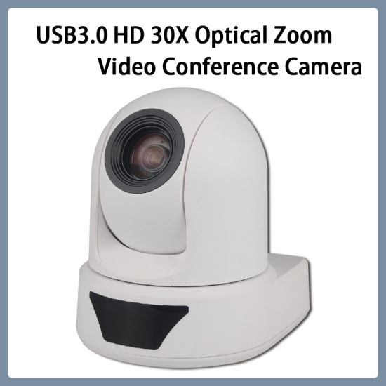 USB3.0 HD 1080P/60 20X Zoom Network PTZ Video Conference Camera